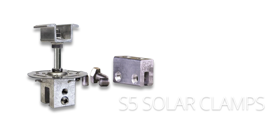 S5 Solar Clamps